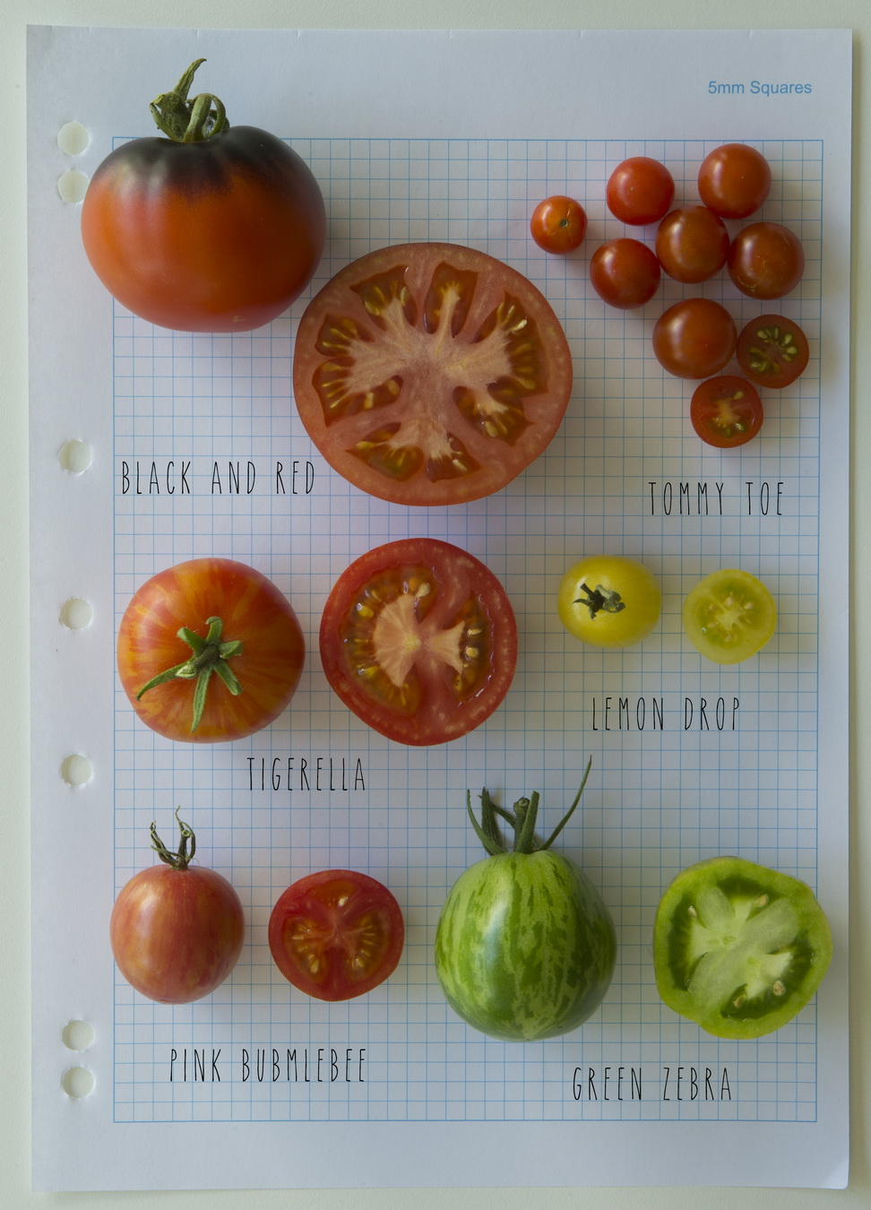 Homegrown Heirloom Tomatoes
