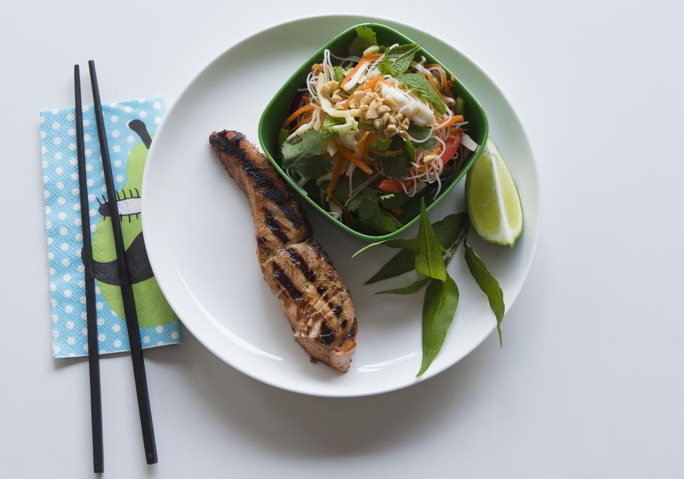 Sunday: Vietnamese Noodle Salad.