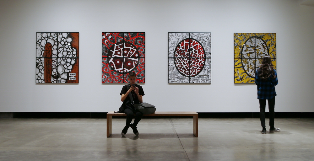 Works by Gilbert and George, MONA