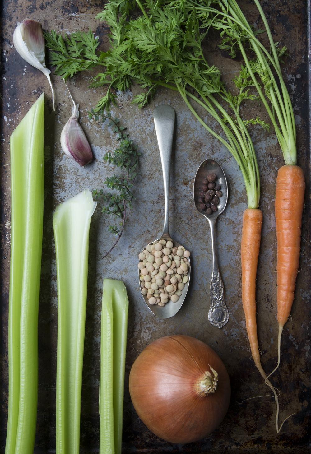 Lentil Soup Ingredients
