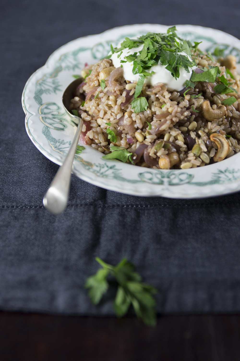 TheUrbanNest_A_Modern_Way_to_Eat_BrownRicePilaf
