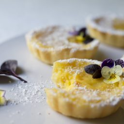 The Best of Both Worlds: Gin and Lemon Tart