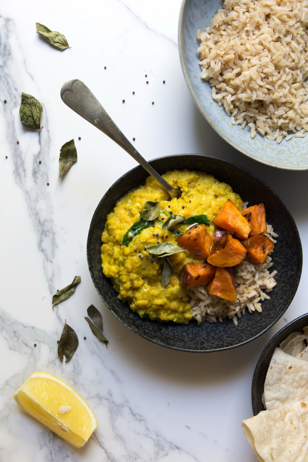 The Urban Nest red lentils dhal