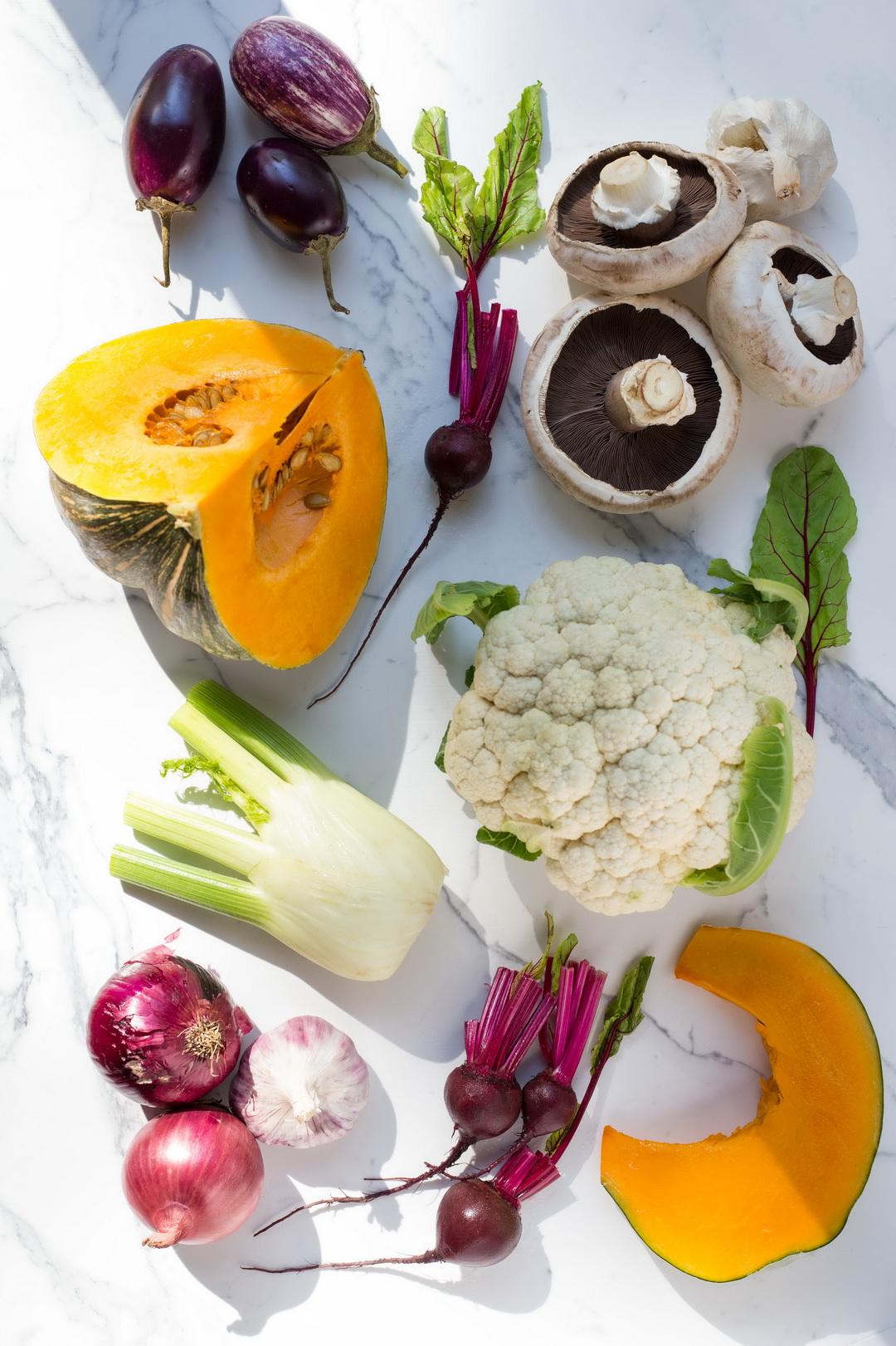 TheUrban Nest Roast Vegetable Lasagne Flatlay