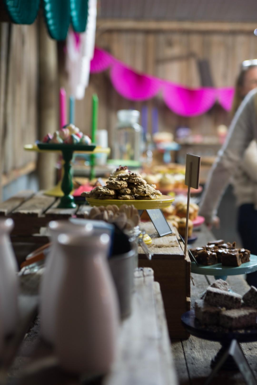 The Urban Nest. Mini rosewater pavlovas for The Biggest Morning Tea