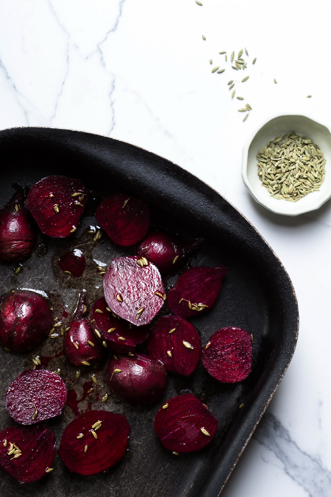 The Urban Nest - Winter salad roast beetroots