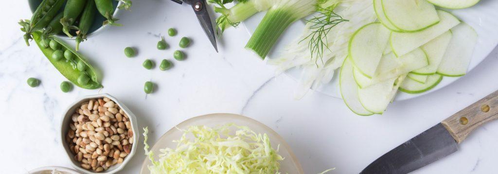 Italian Style Cabbage Salad.