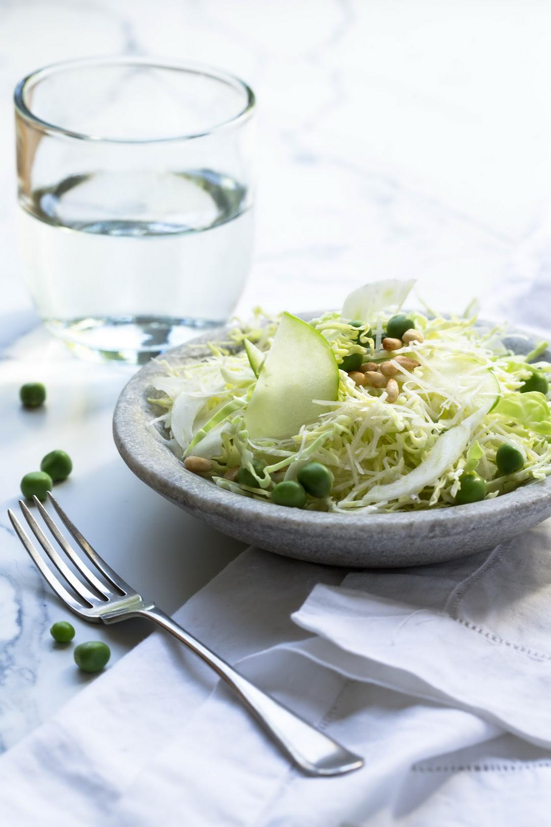 The Urban Nest - Spring Italian Cabbage Salad