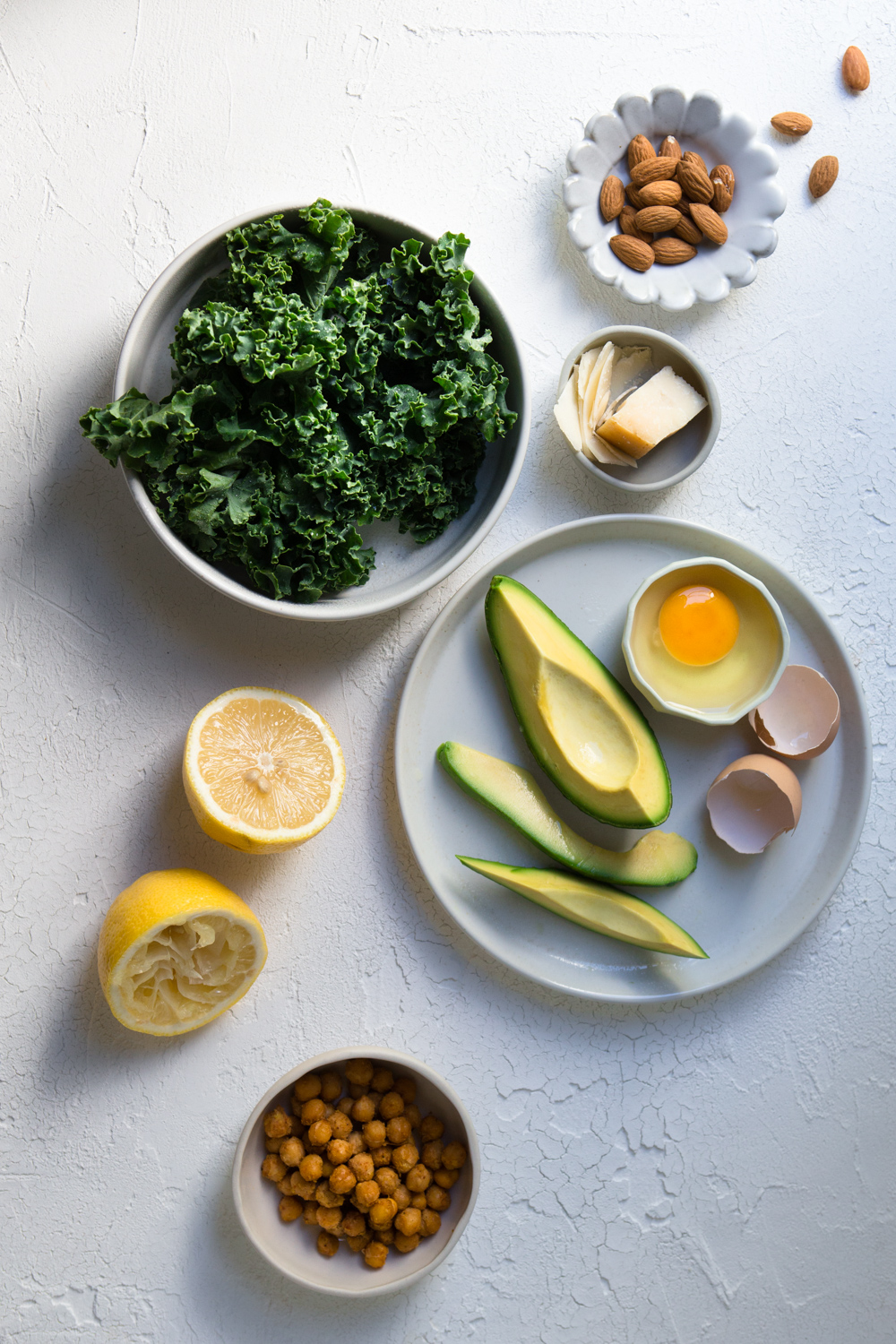 The Urban Nest - Kale Caesar Salad Ingredients