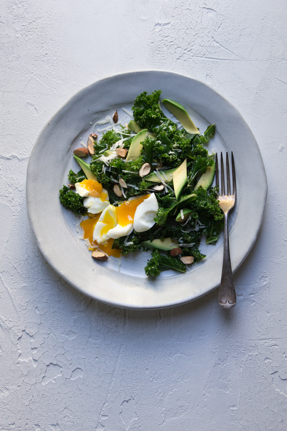 The Urban Nest - Kale Caesar Salad