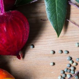 Lentils and Beets with Salsa Verde: A recipe by Anna Jones